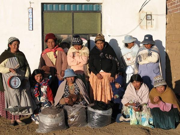 Kvinderne i Wara Wariras i El Alto