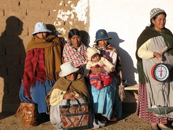 Kvinderne i Wara Waritas i El Alto 2
