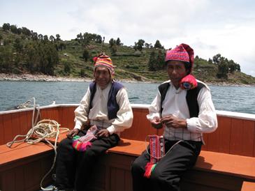 Taquile - Titicacasøen